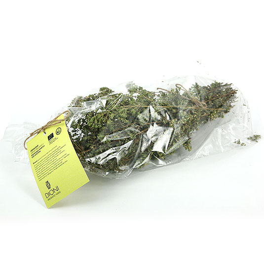 Bag with bunch of oregano leaves 40gr