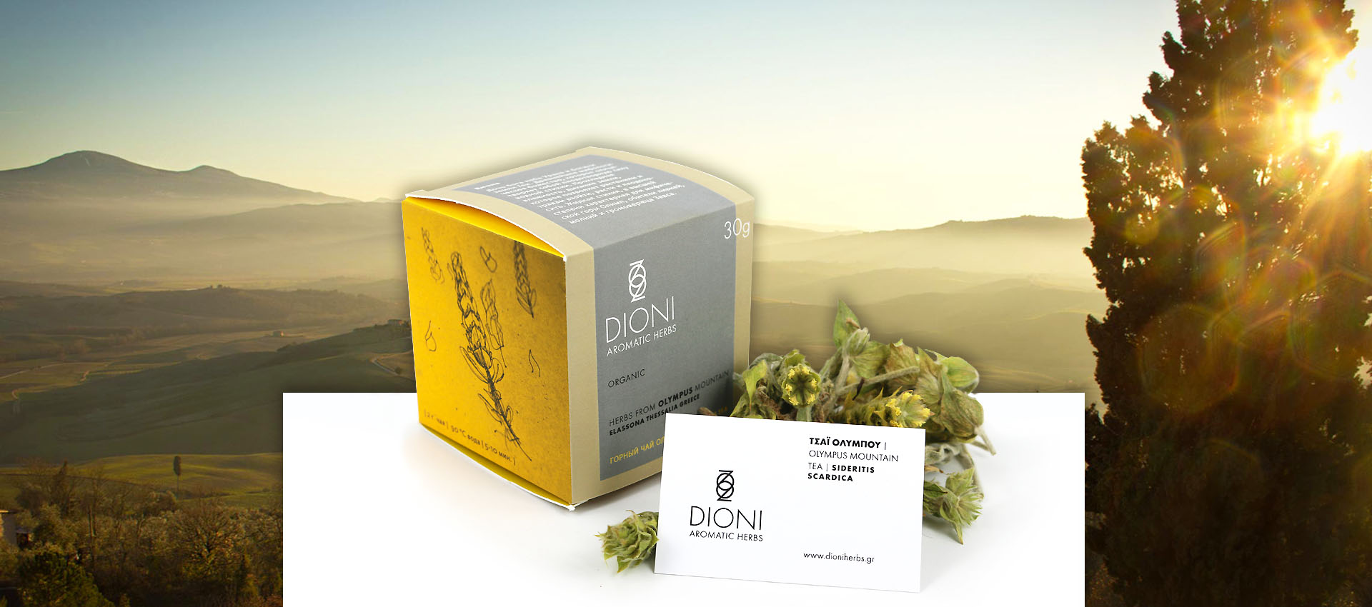 Dioni Olympus tea